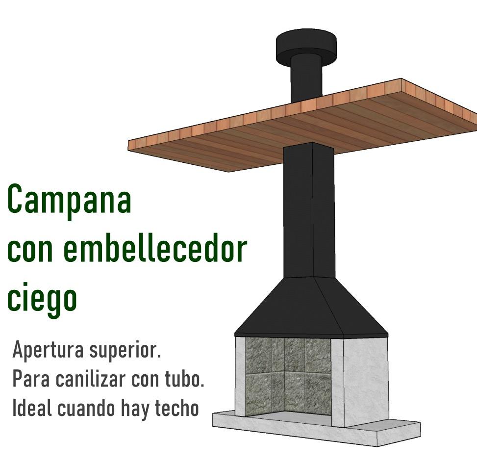 Instalación campana con techo