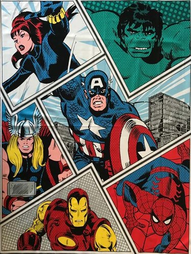 PANEL ALGODON 100% MARVEL AVENGERS