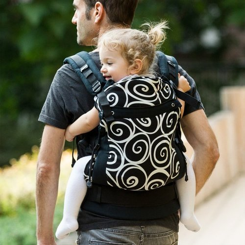 Pack de Liliputi® Mama Bag + Baby Changing Pad + Soft Baby Carrier