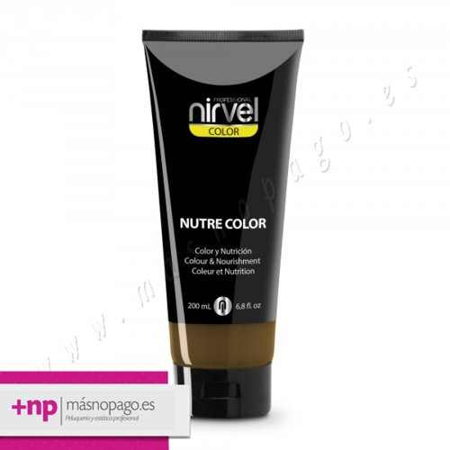 Nutre Color Marrón Intenso, 200 ml.