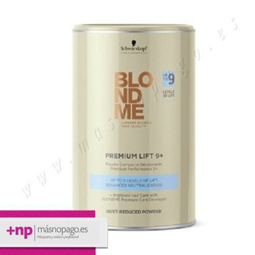 Schwarzkopf Decoloracion 9 Lift Blondme 450 gr