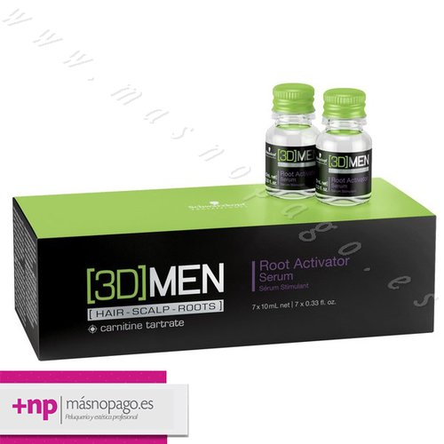 Schwarzkopf  Serum Anticaida 3DMension 7x10 ml.
