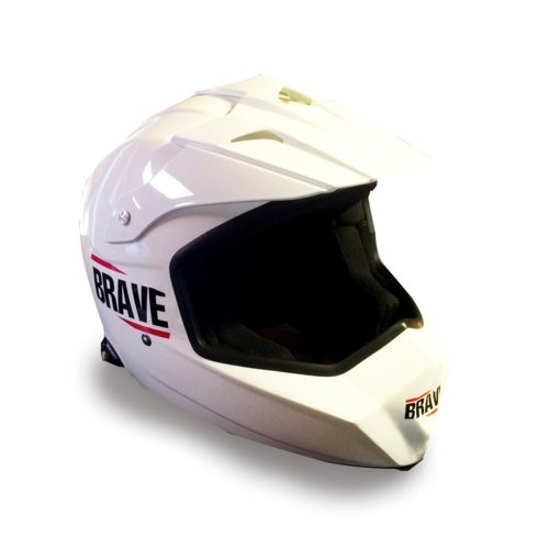 BRAVE FIA 2015 Helmet for FIA XC Cross car and Side-by-side