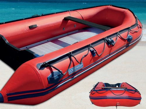 INFLATABLE GOLDENSHIP HSD-ALUMINIUM