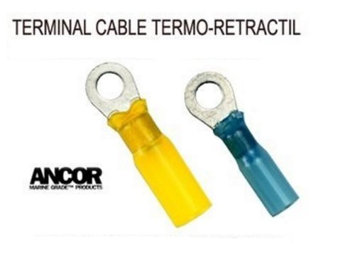 TERMINAL CABLE CON OJAL TERMO-RETRACTIL