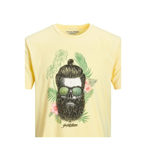 Camiseta amarilla Hawaii