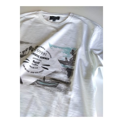 Camiseta blanca Authentic Summer
